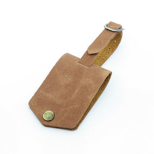 Luggage Tag - Tan - moonrabbitlifestyle