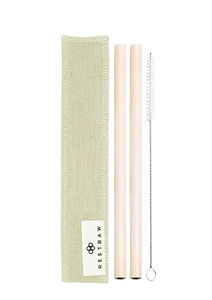 The Bamboo RESTRAW Set - 2 Pack (200mm)