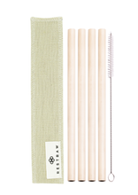 The Bamboo RESTRAW Set - 4 Pack (200mm)