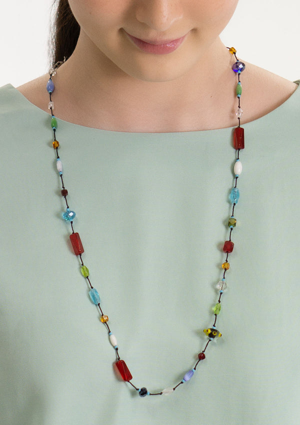 Delicate Rainbow Necklace
