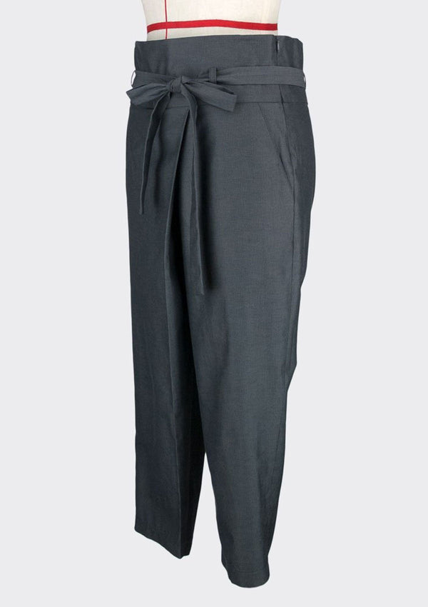 Knotted Tapered Pants