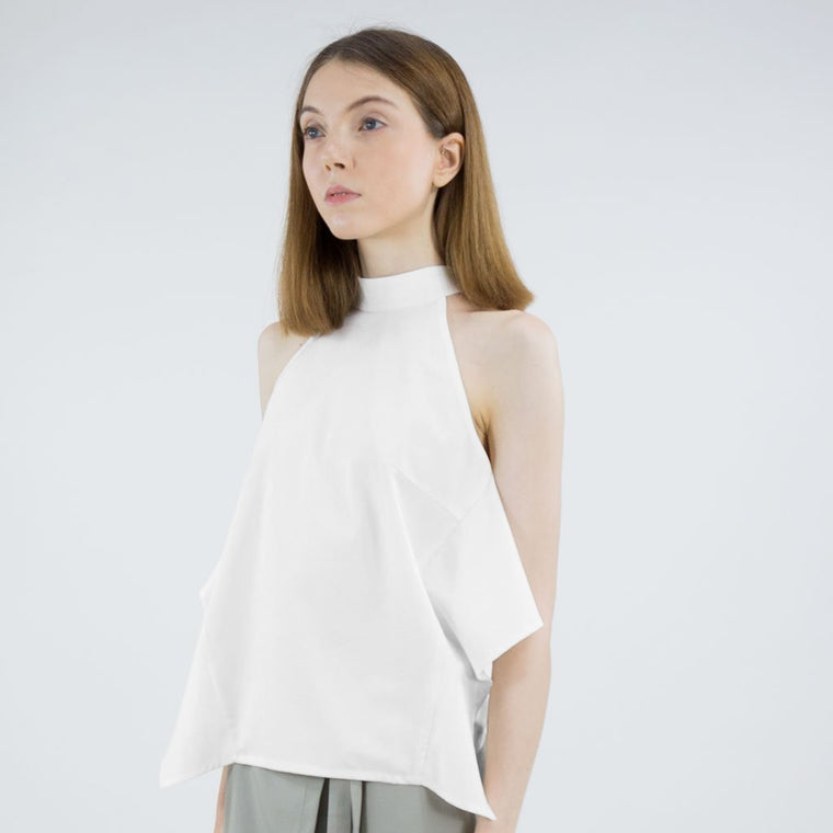 Collar Frill Top