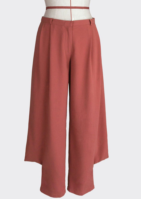 Angular Pleat Pants