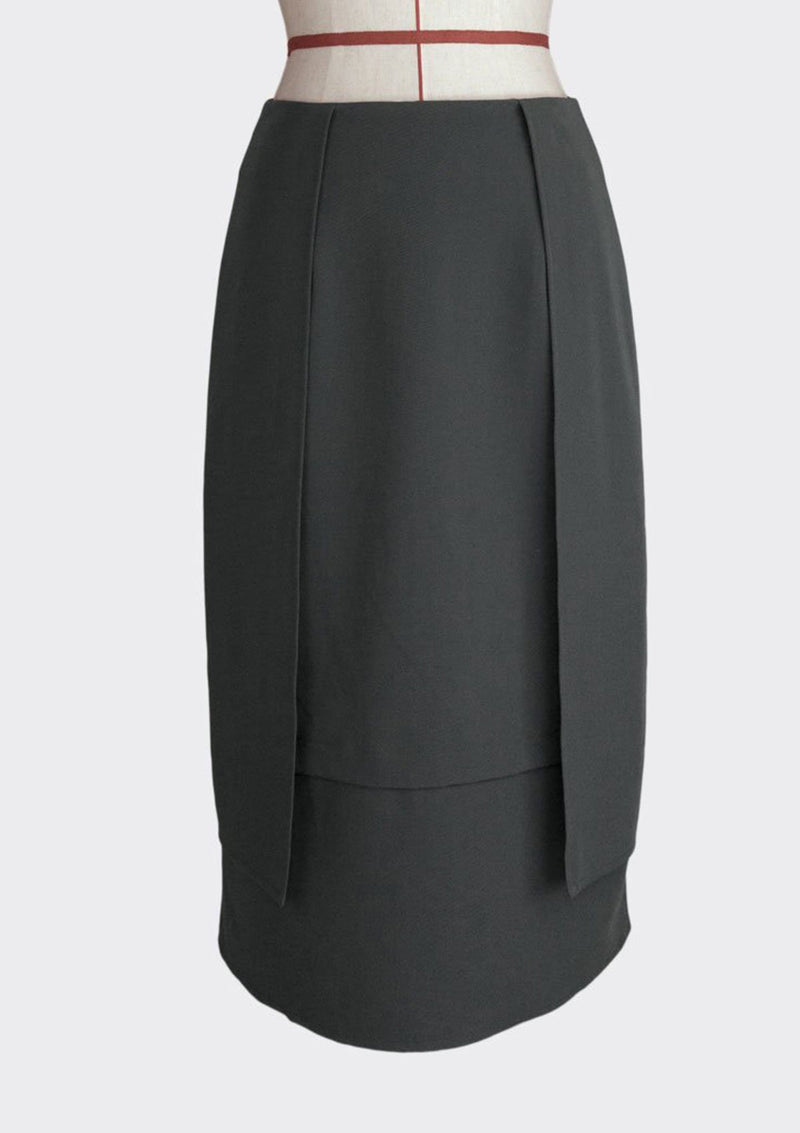 Layered Panel Skirt