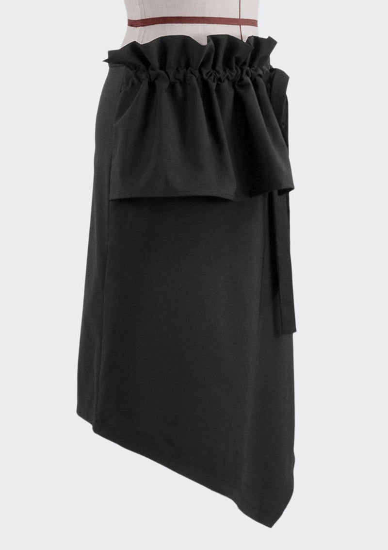 Angular Drawstring Skirt