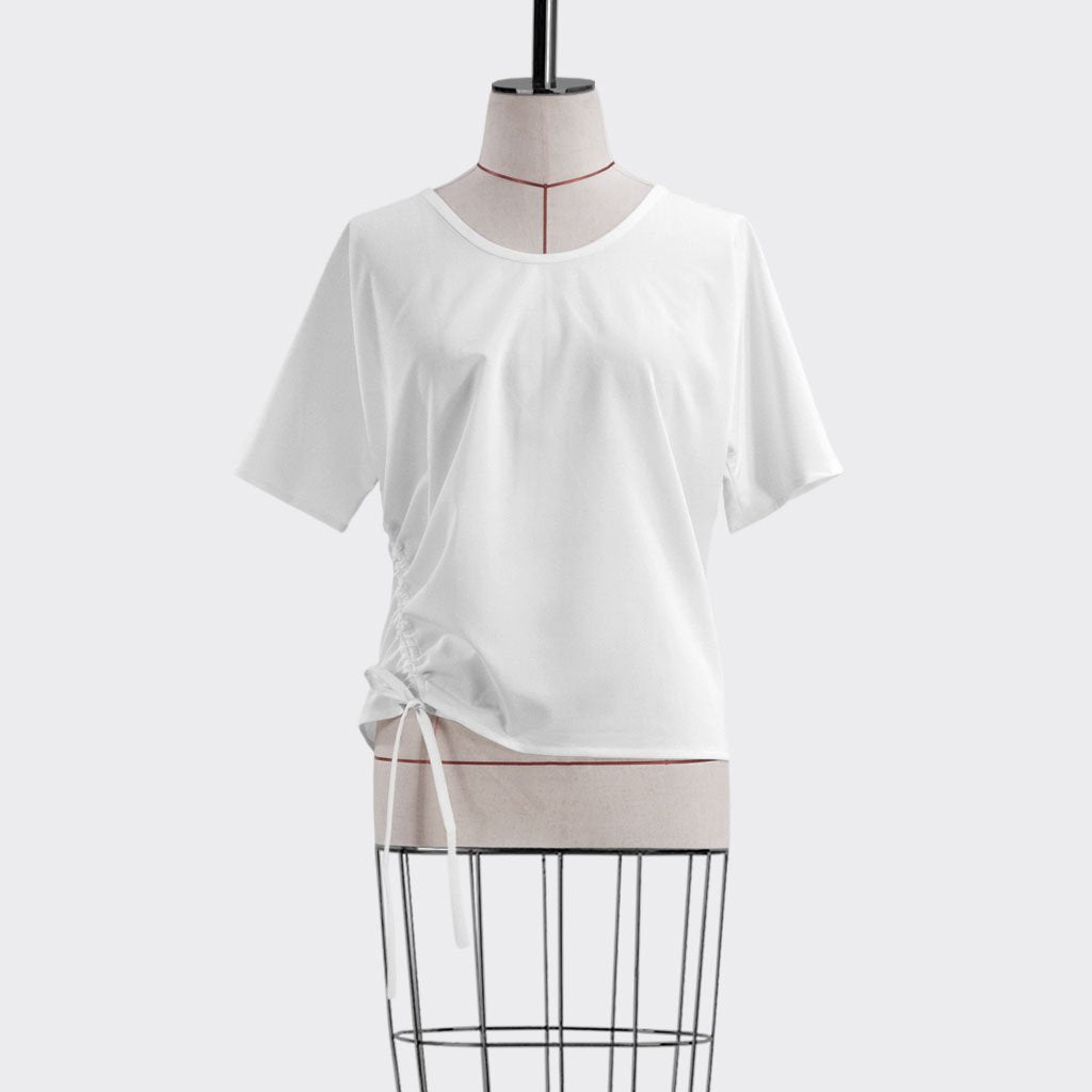 Resort 2018/19 Cinched Top Polyester White S