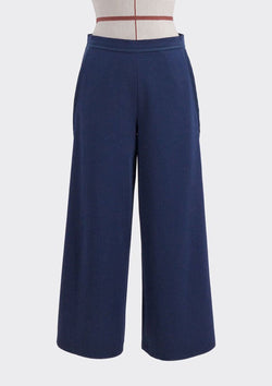 Diagonal Cut Pants