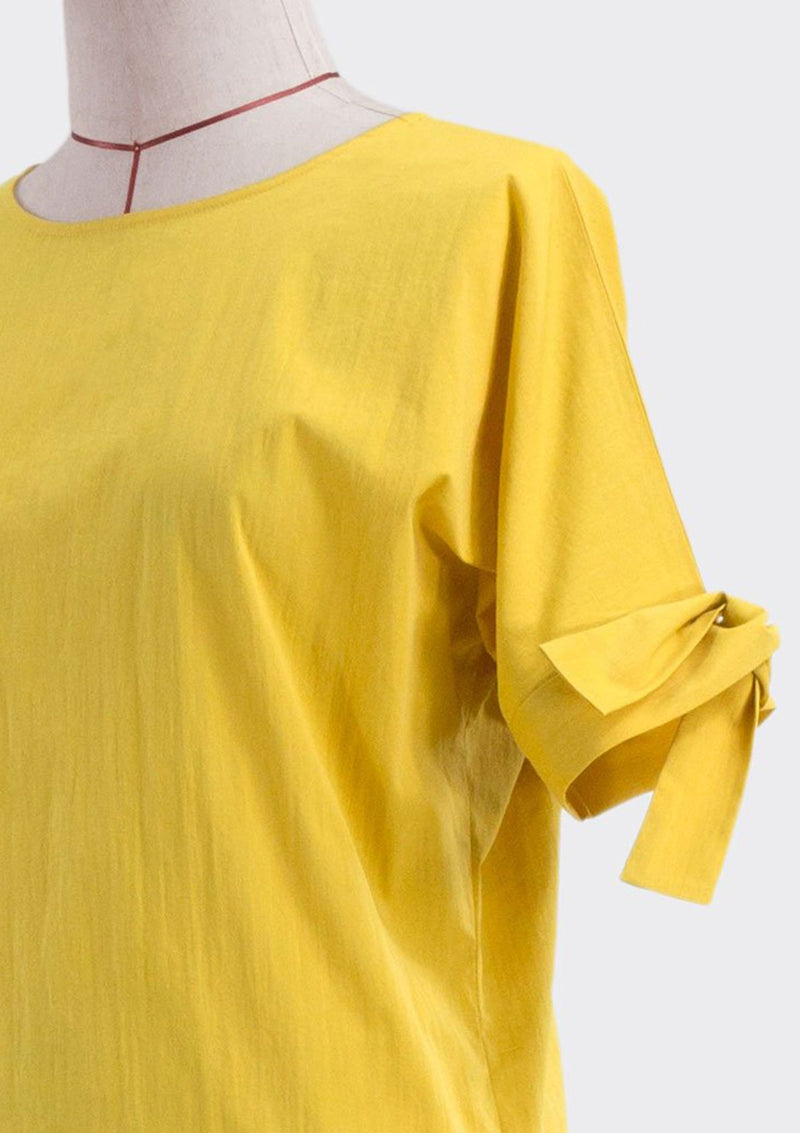Knotted Sleeve Top