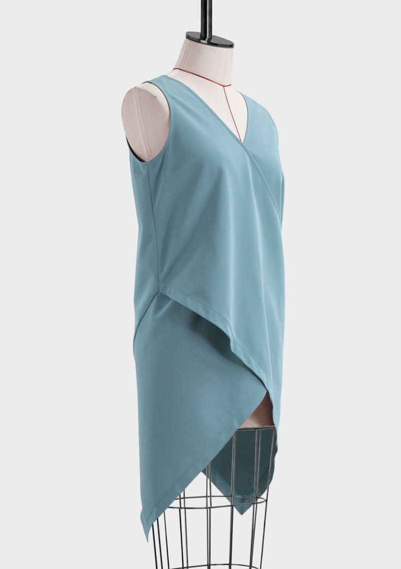 Cross Layered Tunic Top
