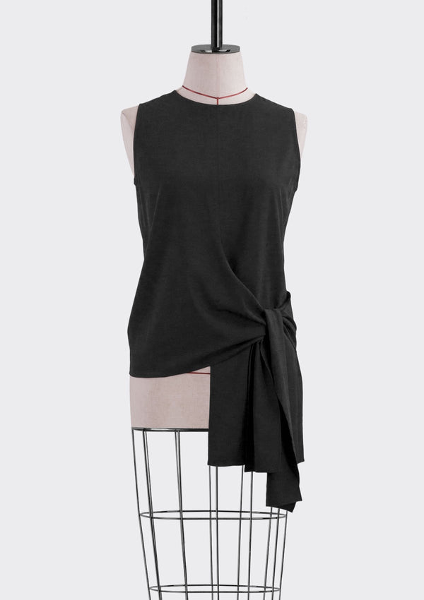 Spring Summer 2019 Alexa Top Polyester Black S