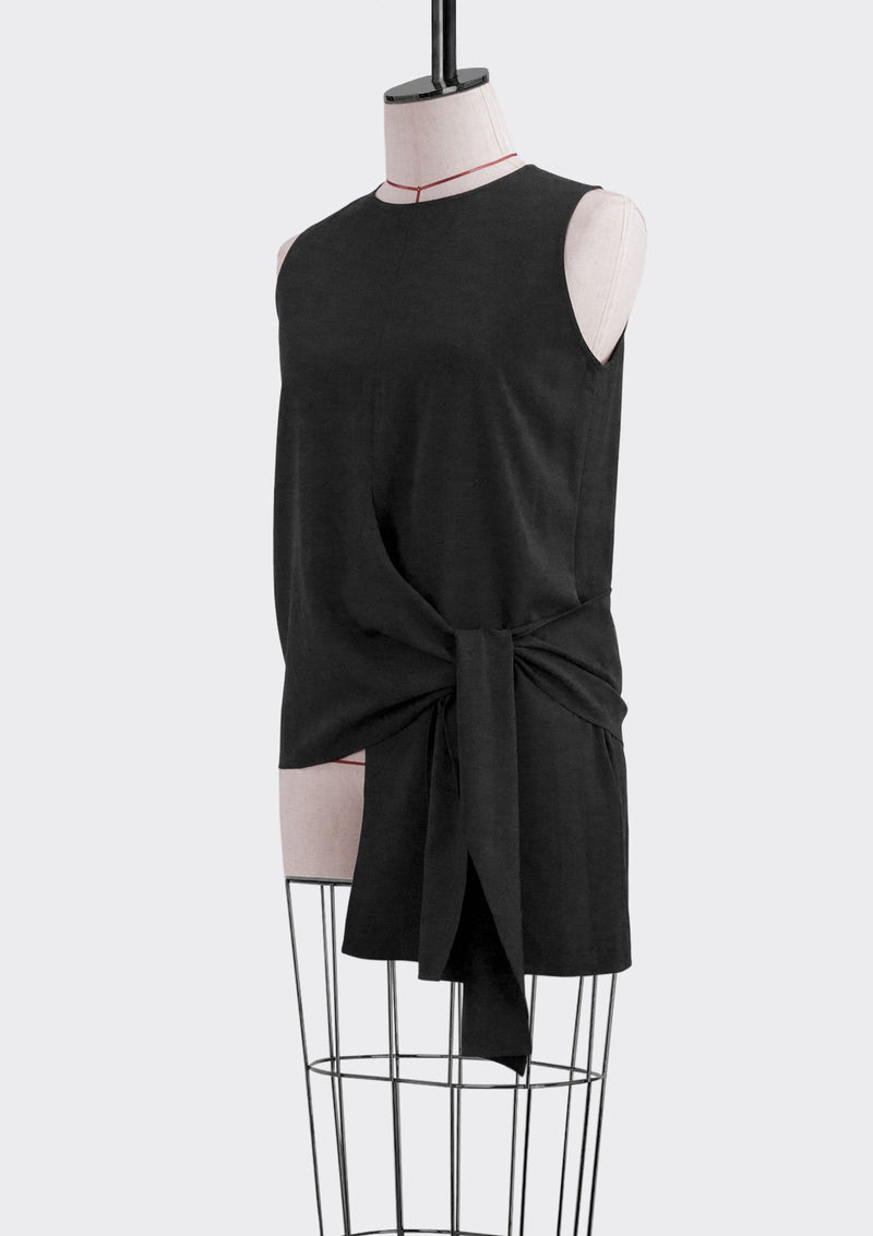 Spring Summer 2019 Alexa Top Polyester Black M