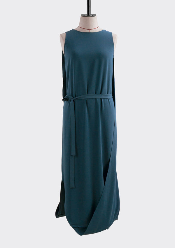Spring Summer 2019 Infinite Dress Polyester Blue S