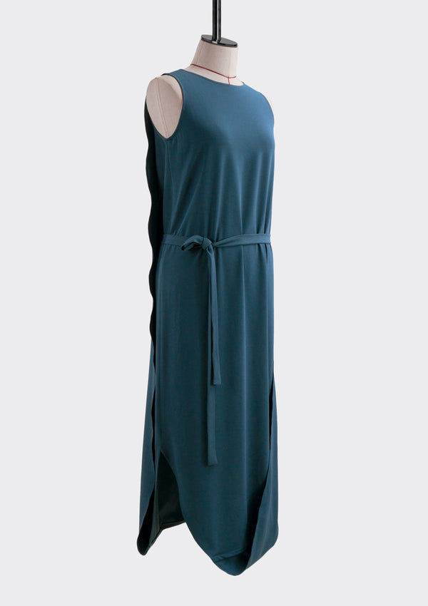 Spring Summer 2019 Infinite Dress Polyester Blue M
