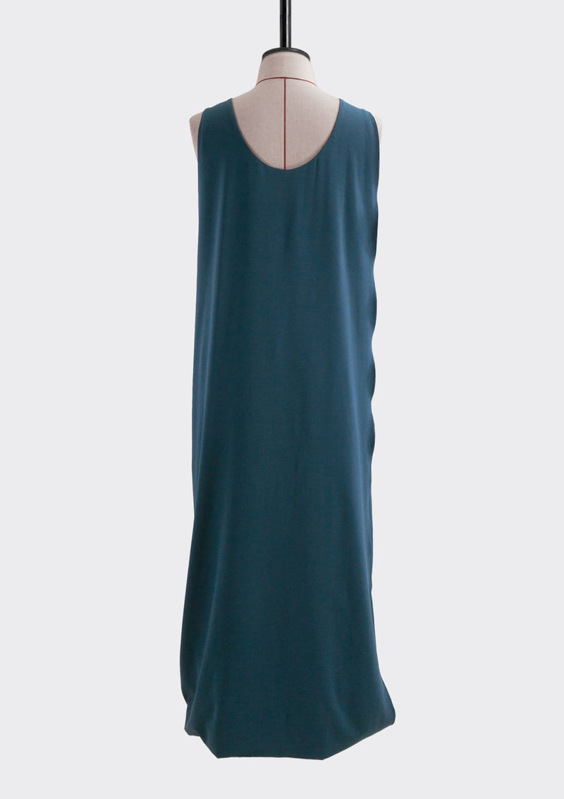 Spring Summer 2019 Infinite Dress Polyester Blue L