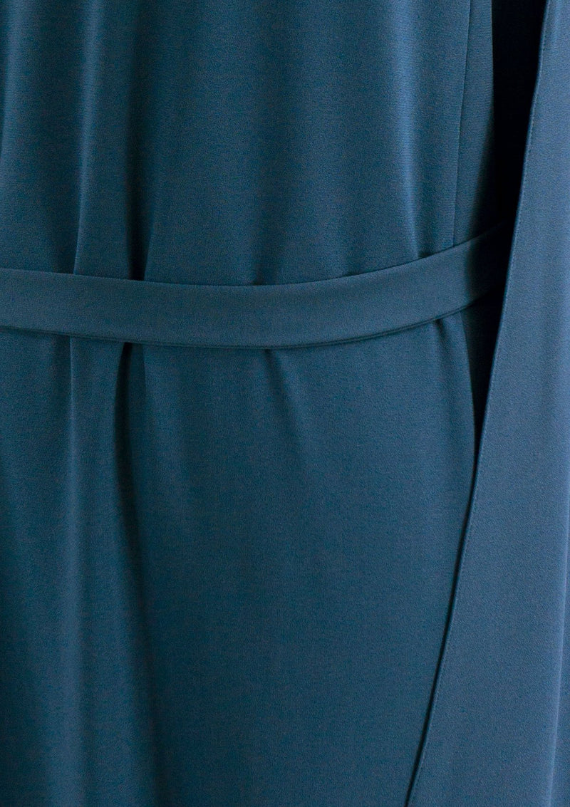 Spring Summer 2019 Infinite Dress Polyester Blue XL
