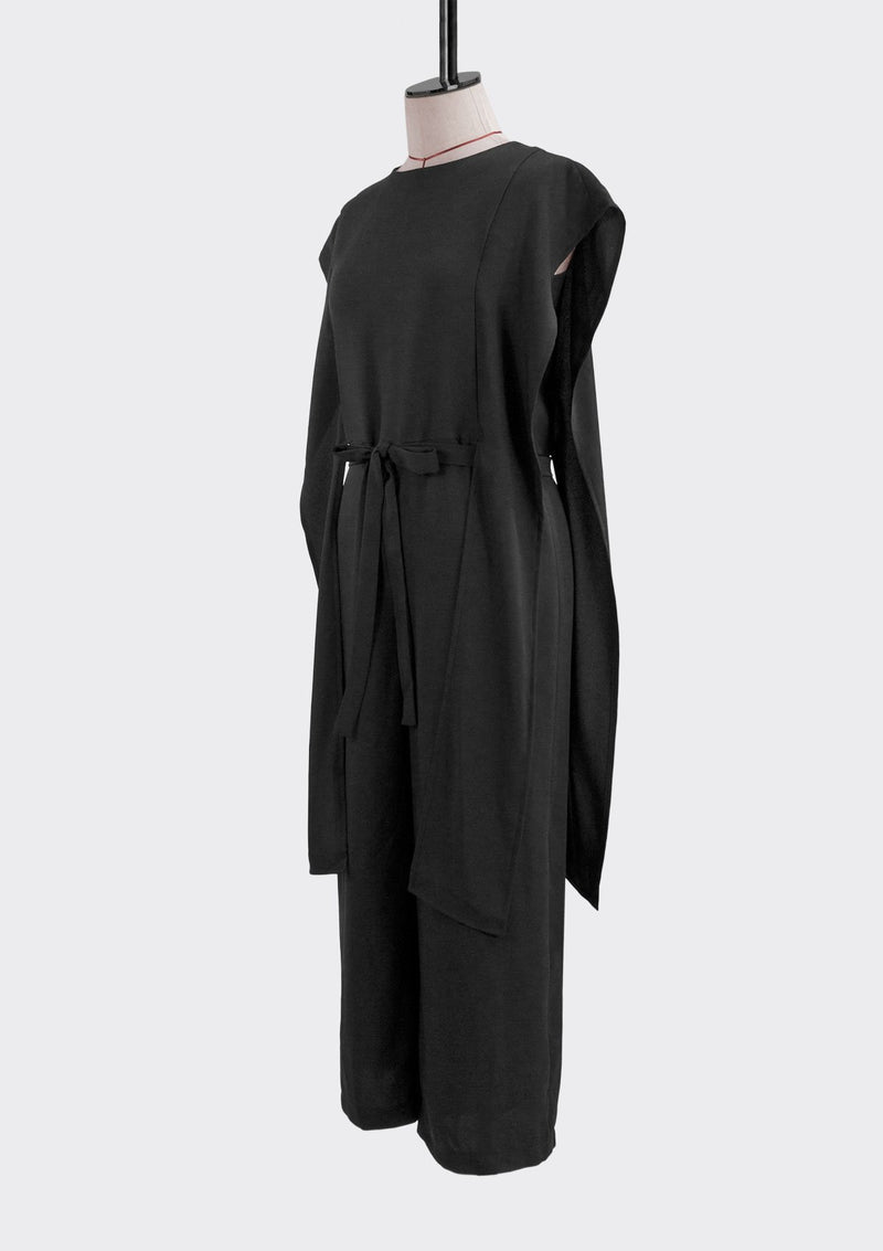 Fall 2019 Mode Jumpsuit Polyester Black XL