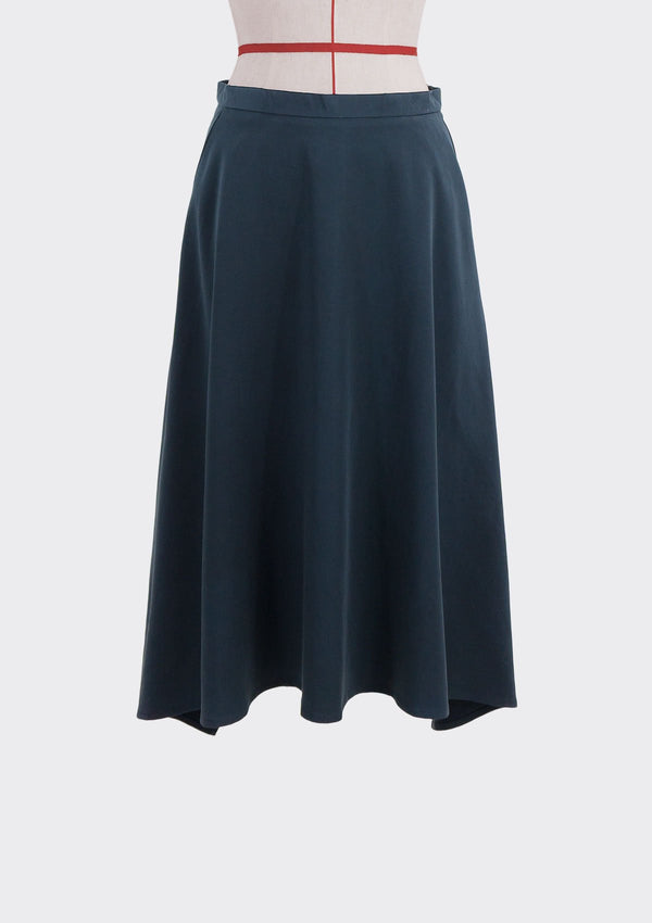 Fall 2019 Dahl Skirt Modal Polyester Dark-Blue S