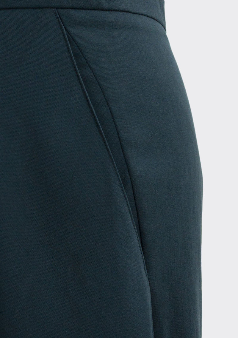 Fall 2019 Dahl Skirt Modal Polyester Dark-Blue XL