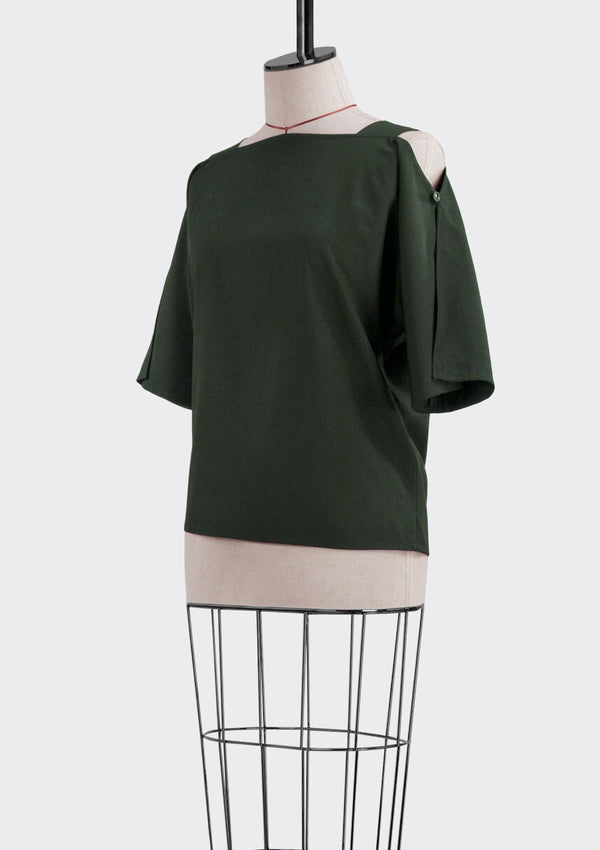 Fall 2019 Matte Top Polyester Green M