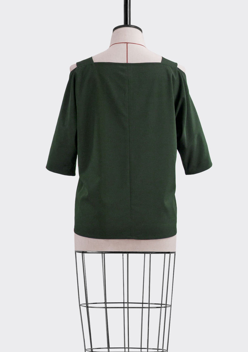 Fall 2019 Matte Top Polyester Green L