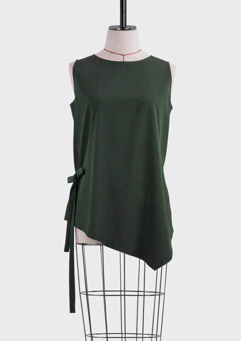 Fall 2019 Flow Top Polyester Green S