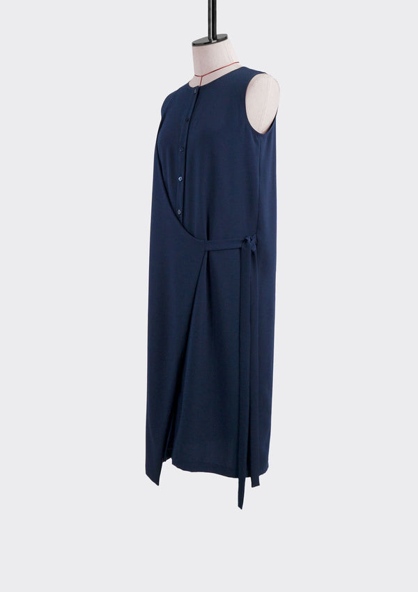 Fall 2019 Solitary Dress Polyester Blue M