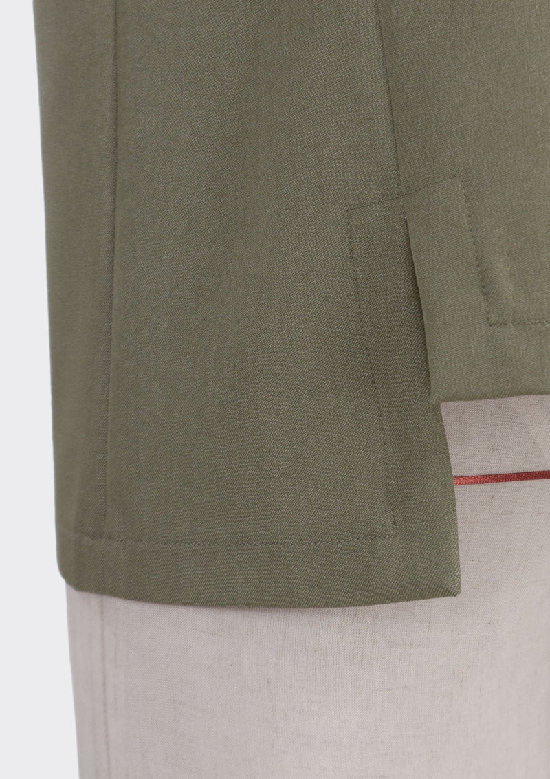 Fall 2019 Ledge Top Polyester Rayon Khaki XL