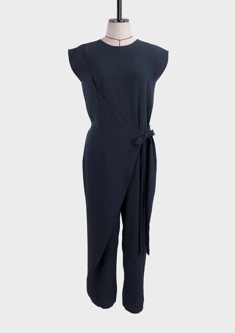 Fall 2019 Flex Jumpsuit Polyester Blue S