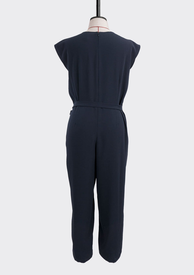 Fall 2019 Flex Jumpsuit Polyester Blue L