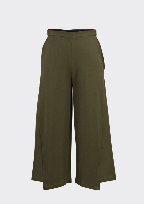 Fall 2019 Corner Pants Polyester Green XL