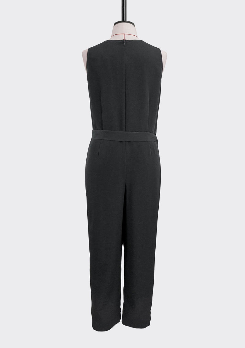 Fall 2019 Trix Jumpsuit Polyester Black L