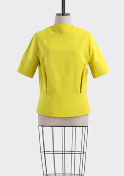 Resort 2019/20 Bobby Top Polyester Rayon Yellow S