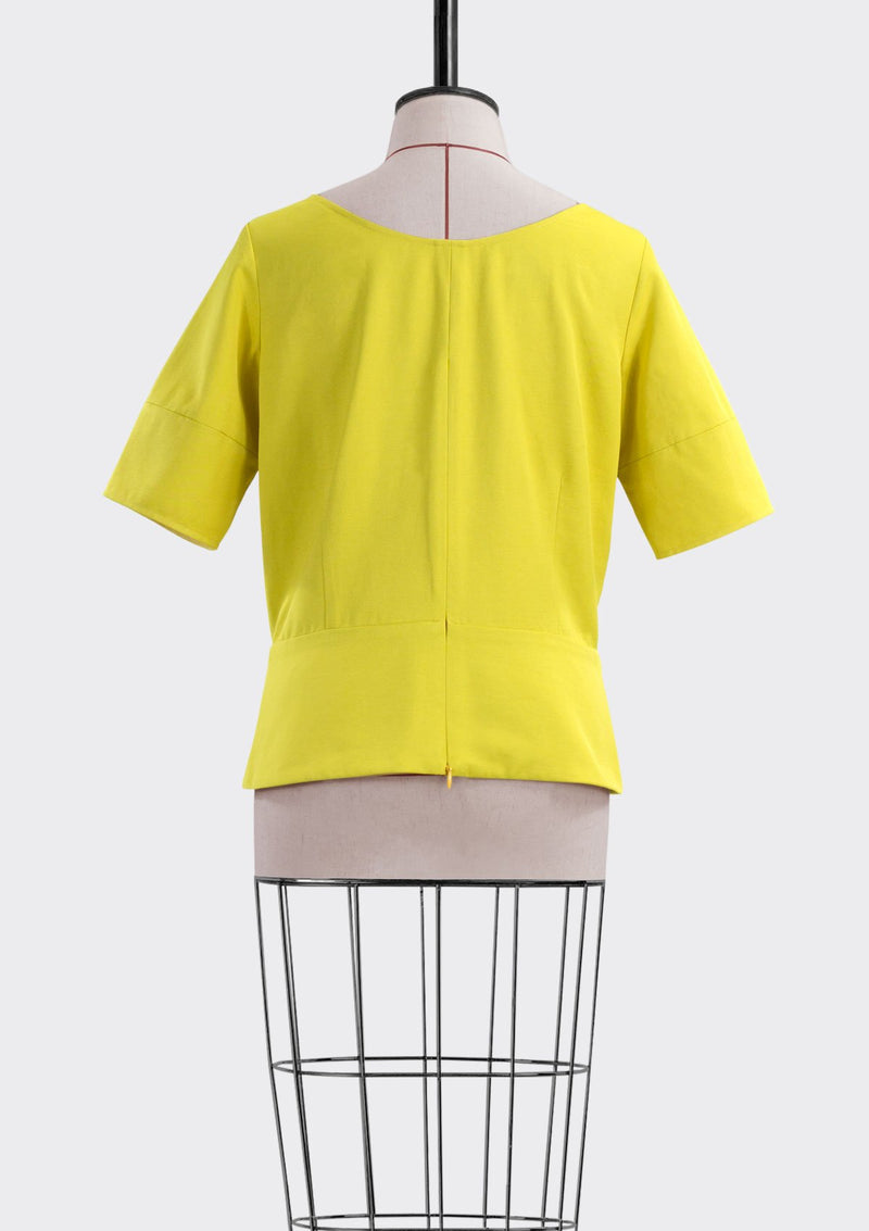 Resort 2019/20 Bobby Top Polyester Rayon Yellow L