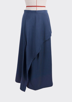 Resort 2019/20 Dilli Skirt Polyester Rayon Blue M