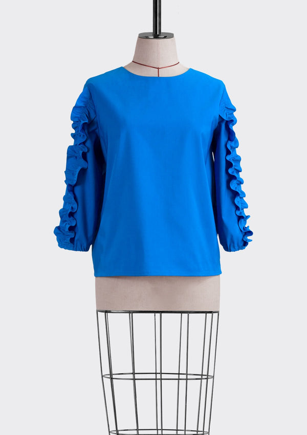 Resort 2019/20 Turner Top Polyester Nylon Turquoise S