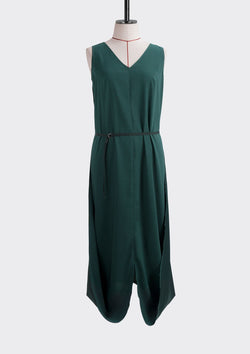 Resort 2019/20 Flip Dress Polyester Green S