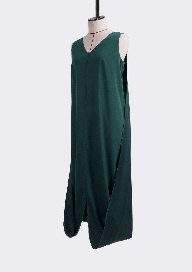 Resort 2019/20 Flip Dress Polyester Green L