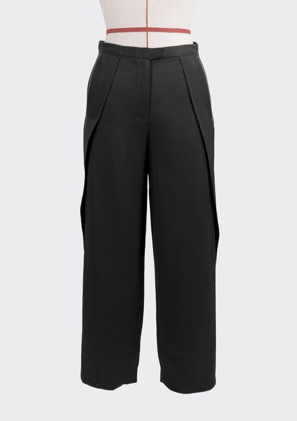Resort 2019/20 Tippy Pants Polyester Rayon Black S