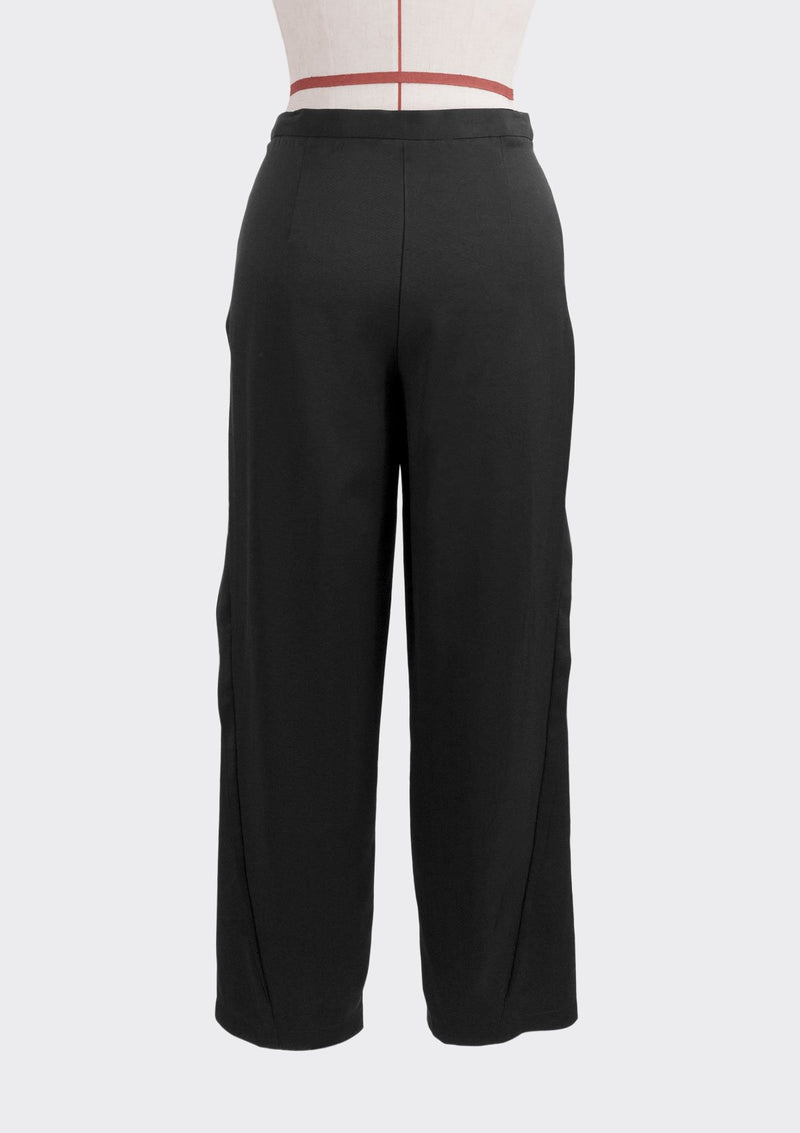 Resort 2019/20 Tippy Pants Polyester Rayon Black L