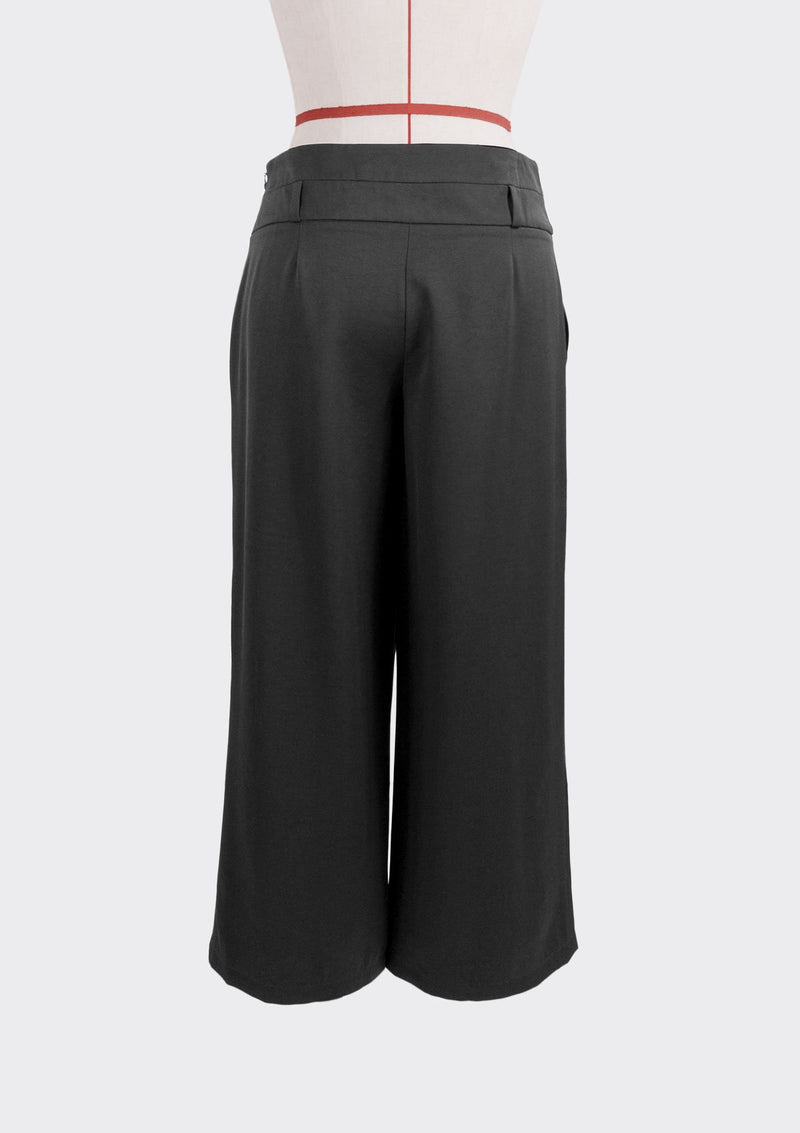 Resort 2019/20 Duplex Pants Polyester Rayon Black L