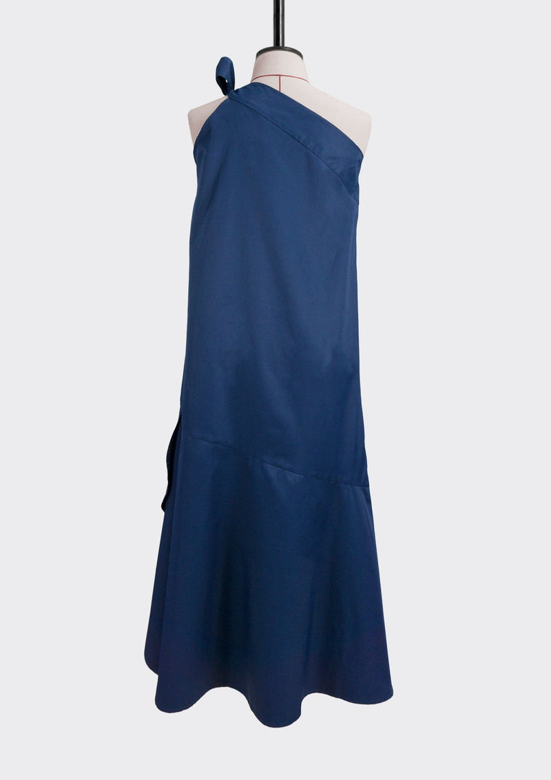 Resort 2019/20 Midnight Dress Cotton Polyester Blue L