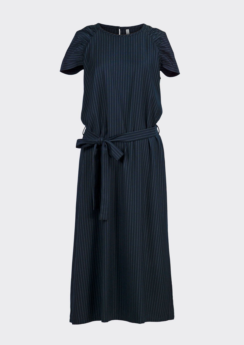 Spring Summer 2020 Duchess Dress Polyester Rayon Blue XL