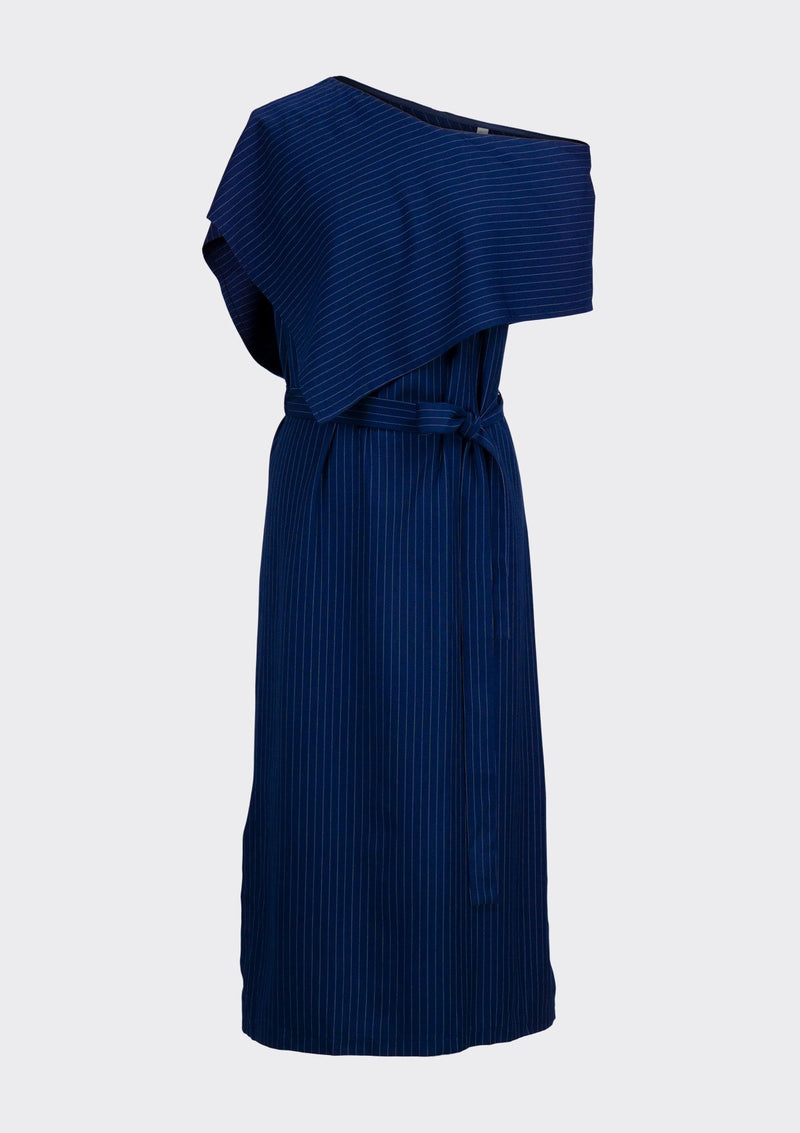 Spring Summer 2020 Andes Dress Polyester Rayon Blue XL