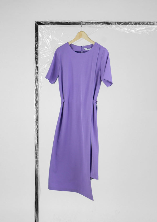 Limited Edition Amethyst Dress Polyester Purple S