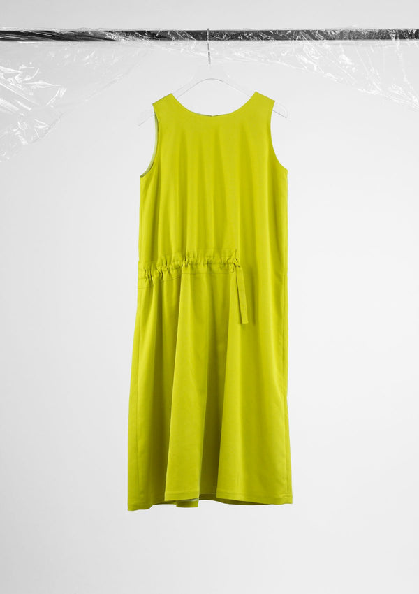 Limited Edition Antic Dress Modal Polyester Yellow S