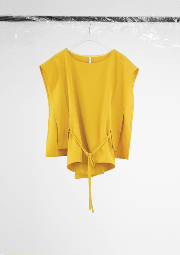 Limited Edition Apiece Top Polyester Yellow S