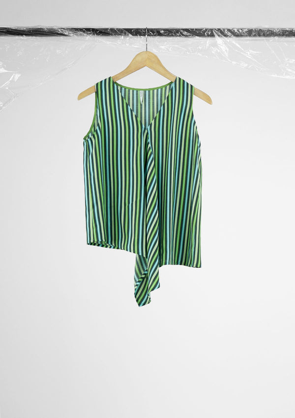 Limited Edition Bonnie Top Polyester Green S