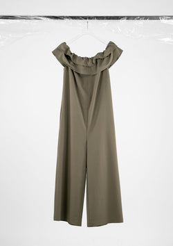 Limited Edition Cacao Jumpsuit Polyester Cotton Brown S