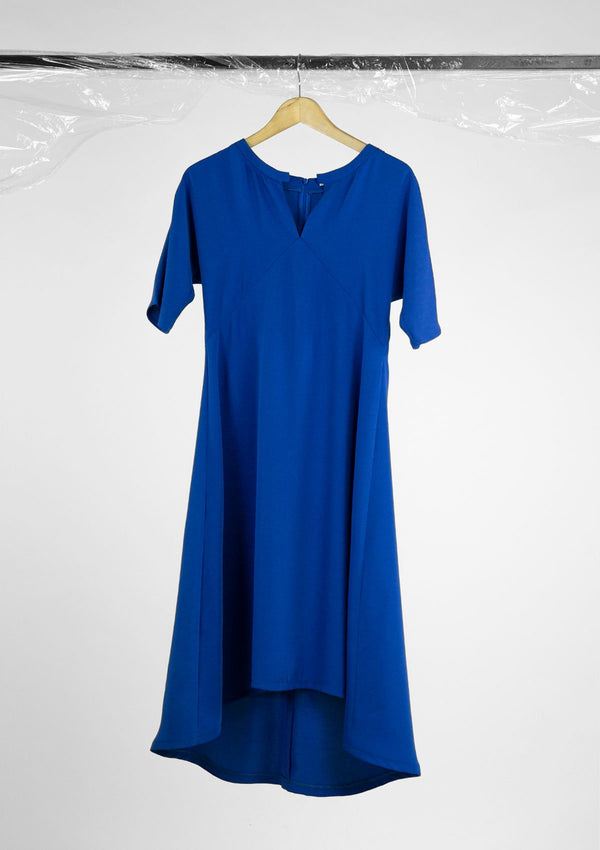 Limited Edition Cerulean Dress Polyester Blue S