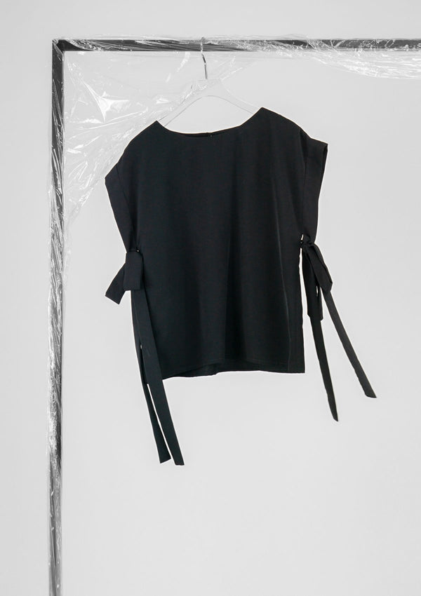 Limited Edition Charlie Top Polyester Black S